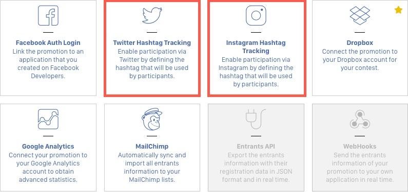 Tutorial: How to create a Mention + Hashtag Contest