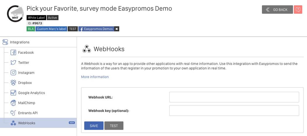 Tutorial: Enabling Webhook Integration – Easypromos - Online Helpdesk